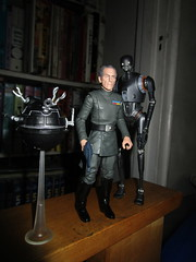Grand Moff Tarkin with Death Star Droids Star Wars 4045 (Brechtbug) Tags: peter cushing grand moff tarkin with death star droid k2so or kaytuesso interrogation wars action figure toy toys villain villains 1964 1960s 60s 1977 1970s 70s movie film science fiction scifi spy adventure hot forbidden planet comics store nyc 2018 comicbook rogue one a new hope
