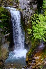 20180615 033 Mt Rainier Christine Falls (scottdm) Tags: 2018 christinefalls june mountrainiernationalpark paradise spring travel usa unitedstates wa washington washingtonstate waterfall ashford us