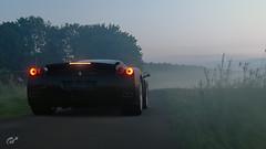 Ferrari Enzo (Matze H.) Tags: ferrari enzo gt sport gran turismo fog dust sunset sunrise scapes uhd 4k