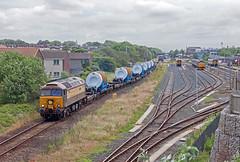 Am I Boring You Yet? (Richie B.) Tags: 6x24 kxa pfa barrow in furness cumbria drs direct rail services brush traction general motors class 57 57305 57312