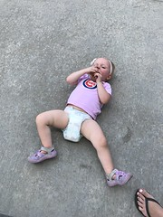 """Dani Lays on the Concrete in Kansas City • <a style=""""font-size:0.8em;"""" href=""""http://www.flickr.com/photos/109120354@N07/41320467540/"""" target=""""_blank"""">View on Flickr</a>"""