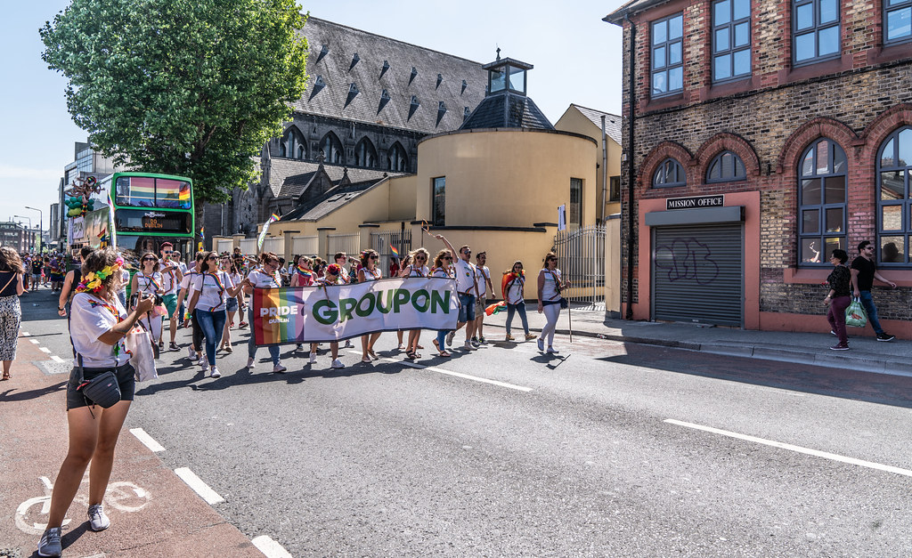 ABOUT SIXTY THOUSAND TOOK PART IN THE DUBLIN LGBTI+ PARADE TODAY[ SATURDAY 30 JUNE 2018] X-100231