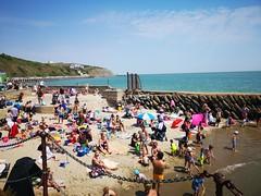 2018-07-FL-192481 (acme london) Tags: 2018 beach folkestone folkestoneharbour hightide kent play playground sand summer