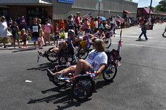 139th Annual 4th of July Parade (Adventurer Dustin Holmes) Tags: 2018 webstercounty missouri marshfieldmo marshfieldmissouri parade parades events independenceday outdoor 4thofjuly july4th annual 139th midwest riding transportation peddle humanpowered trikes recumbent