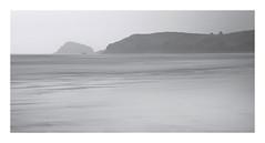 Perranporth Layers (Andrew Hocking Photography) Tags: perranporth beach cornwall seamist mist sea ocean overcast longexposure landscape seascape headland minimal simple muted grey layered