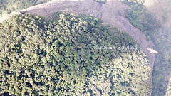 Mount Lico JB - Birds eye view, drone image with eagle (May 18)