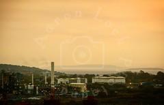 Industrial Winter (Aaron_A.K.A_Aaron) Tags: winter industry industrial sunrise coast coastal landscape beautiful peaceful wales uk britain stunning islands sea ocean lighthouse mist lights