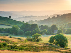Summer days (Stephen Elliott Photography) Tags: peakdistrict hopevalley derbyshire hathersage mitchell field summer evening golden hour olympus em1 12100mm kase filters