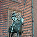 Guarding the entrance, Old Town Hall, Bremen