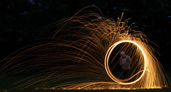 Wire Wool 1st Try (danielthompson19) Tags: canon80d 80d canon nightphotography photography night lighttrails longexposure wool wire wirewool