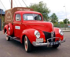1940 Ford Pick-Up (Vriendelijkheid kost geen geld) Tags: nationale oldtimerdag lelystad 2018 ford pickup v8 hartoghfordmuseum