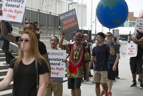 UN Protest, New York City - June 20th