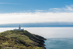 The Fog Rolls In (K_D_B 2.6 Million views. Thanks) Tags: strumbleehead lighthouse fog sea water pembrokeshire kdb