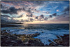 Sunrise, Poipu, Kauai. (drpeterrath) Tags: canon eos5dsr 5dsr sunrise sunset color water ocean kauai hawaii poipu waves rocks clouds