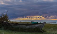 Ostsee  (6) (berndtolksdorf1) Tags: deutschland mecklenburgvorpommern ostsee boot himmel sky strand meer wasser outdoor
