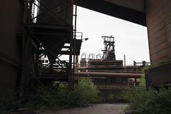 Framed Furnace (michaelbrnd) Tags: abandoned blast furnace steel mill urbex urban exploration hfb belgium
