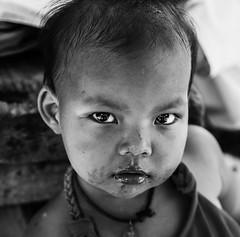 (racanoanthony) Tags: thailande pucket island bnw black white noir blanc travel traveller asia eyes kids face portrait children