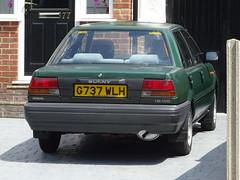 1989 Nissan Sunny 1.6 GS (Neil's classics) Tags: vehicle 1989 nissan sunny 16gs