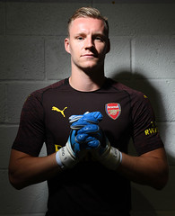 Arsenal Unveil New Signing Bernd Leno (Stuart MacFarlane) Tags: sport soccer clubsoccer stalbans england unitedkingdom gbr