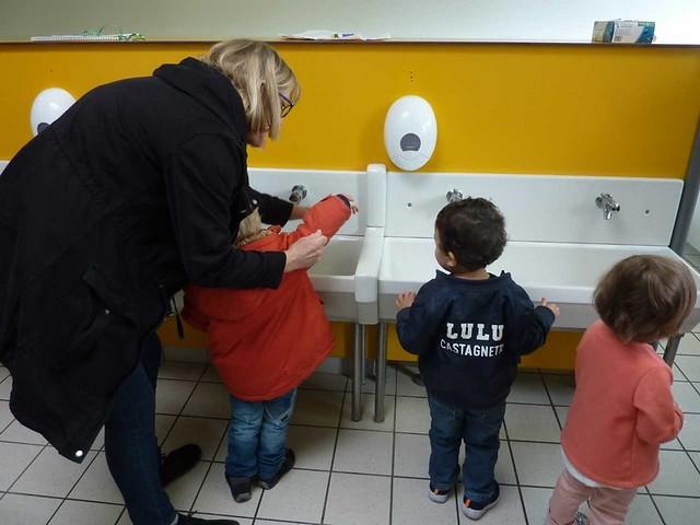 Photo 8 - Les enfants du multi-accueil découvrent l'école