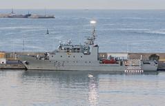 Patrol Vessel Tarifa (dcnelson1898) Tags: cartagena spain coast port cruise travel vacation hollandamericaline oosterdam mediterraneansea spanishnavy military boat ship
