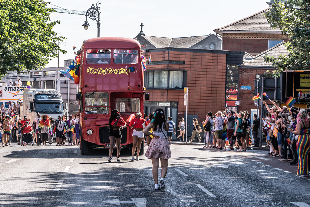 ABOUT SIXTY THOUSAND TOOK PART IN THE DUBLIN LGBTI+ PARADE TODAY[ SATURDAY 30 JUNE 2018] X-100145