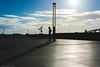 Pier Head sundown (Steven Blanchard) Tags: liverpool pierhead merseyside mersey sunset sundown shadows