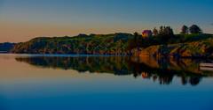 Reflections (evakongshavn) Tags: landscape 7dwf water ocean sea colors colours reflections sunset blue light blahblahscape island karmøy haugesund norge norway nikon nikond7200