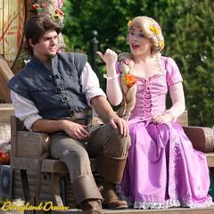 Raiponce et Flynn Rider - Rapunzel and Flynn Rider (Disneyland Dream) Tags: shanghai disneyland disney park resort parade raiponce flynn rider rapunzel
