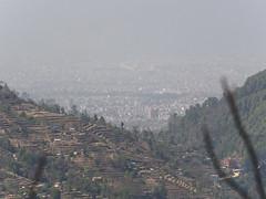 Kathmandu in the haze down below (Šarūnas Burdulis) Tags: nagarkot nepal kathmandu haze