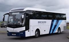 PO18EEX  The Travellers Choice, Carnforth (highlandreiver) Tags: po18eex po18 eex the travellers choice carnforth jonckheere bus coach gretna green