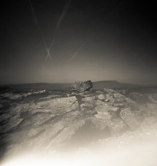 Fault or serendipity (Christopher M Hight) Tags: zero 2000 pinhole ilford panf50 120 film
