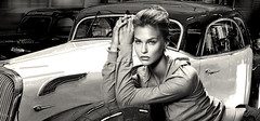 (horlo) Tags: portrait barrefaeli film movies cinema actress wallpaper fonddécran glamour actrice vintage woman femme nb bw monochrome blackandwhite noiretblanc