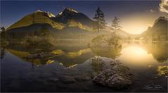 Hintersee (Friedrich Beren) Tags: hintersee sonnenuntergang bärchtesgaden abend