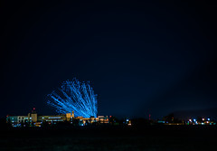 launching 500 illuminated drones (pbo31) Tags: bayarea california night dark black july 2018 boury pbo31 nikon d810 summer color solanocounty lightstream motion fairfield travisairforcebase drones show 4th dancing controlled fly formation 500 intel synchronize pilot
