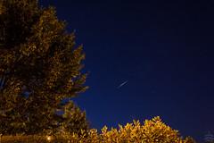 Flare of Iridium 76 / @ 18 mm / 2018-07-07 (astrofreak81) Tags: iridium flare iridiumflare cassiopeia night sky dresden