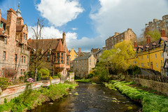 Dean Village (Courtarro) Tags: deanvillage edinburgh hdr scotland