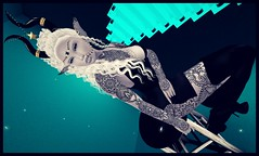 .☽O☾Dark Elf Day☽O☾. (bexhaven) Tags: body boots hair jewelry outfit skin tattoo anybody bindi black catwa catya colorhud curls dark elf event events fantasy gems gothic hali jewel lara latex leven lumae luna maisie maitreya moonlite night nosechain onyxia phoenix priestess redgirl silver sparkles stars stylehud thedarkness white zanett adore