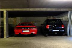 Ferrari 348 GTS & VW Lupo GTI .. Du lourd !! (FerrariBOOK) Tags: rhônealpes lyon 69 ferrari sf f1 rossocorsa rosso motors gt cavallinorampante cars car auto 2018 juin auvergnerhônealpes rhône canoneos750d canon canoneos 750d eos750d carspotting sport spotting spotters parking parkingsouterrain garage brotteaux placebrotteaux garedesbrotteaux aguttes julesferry 348 348ts 348gts ts gts v8 vw lupo lupogti gti vwlupo combo souterrain targa spider sportauto pozzi collection