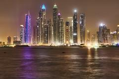 Dubai Marina Skyline (Joao Eduardo Figueiredo) Tags: dubai marina skyline palm jumeirah united arab emirates uae unitedarabemirates nikon nikond850 joaofigueiredo joaoeduardofigueiredo water buildings skyscrapers palmjumeirah