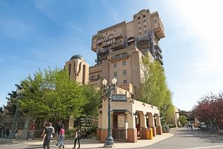 The Twilight Zone Tower of Terror - Walt Disney Studios Park (France)