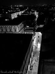 La strada di Bologna dove c'è ZARA !!!! (frillicca) Tags: 2018 april aprile bn bw biancoenero bianconero blackandwhite blackwhite bologna cattedralemetropolitanadisanpietro landscape lights luci monochrome monocromo night notte notturno panasoniclumixlx100 panorama torre tower viaaltabella vialeindipendenza