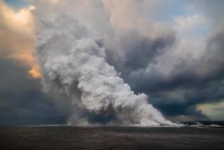 Hawaii Kilauea Volcano Lava Laze Boat Tour View 7