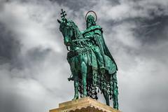 Statue Stephan I. (Roman Achrainer) Tags: stephani könig ungarn budapest fischerbastei denkmal achrainer skulptur