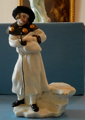 """Pilgrim"" - porcelain of Neapolitan manufacture (1745-1750) - Duca di Martina Museum at Villa Floridiana in Naples. (Carlo Raso) Tags: pilgrim porcelain naples ducadimartinamuseum villafloridiana"