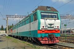 2ES6-098 (zauralec) Tags: rzd ржд локомотив электровоз депо курган kurgan depot sinara синара 2es6 2эс6 2es6098 098 2эс6098
