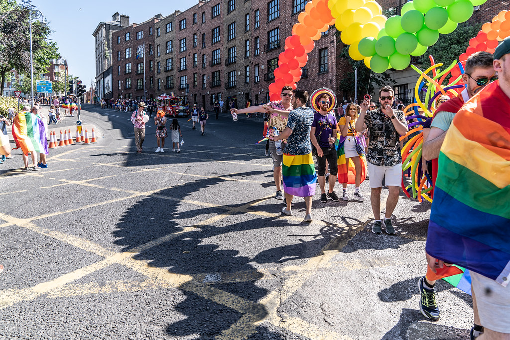 ABOUT SIXTY THOUSAND TOOK PART IN THE DUBLIN LGBTI+ PARADE TODAY[ SATURDAY 30 JUNE 2018] X-100274