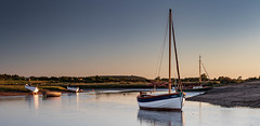 A Tranquil Evening at Stiffkey (andybam1955) Tags: peace landscape calm peaceful coastal stiffkey sky northnorfolk boats tranquility norfolk sea