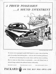 1948 Packard Super Eight Sedan (aldenjewell) Tags: 1948 packard super eight sedan ad