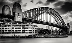 Sydney Harbour Bridge (Martin Snicer Photography) Tags: sydneyharbourbridge australia travel bridge architecture bnw blackandwhite monchrome longexposure ndfilter canon 6d